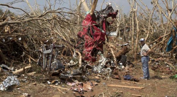 Image result for tornado damage path