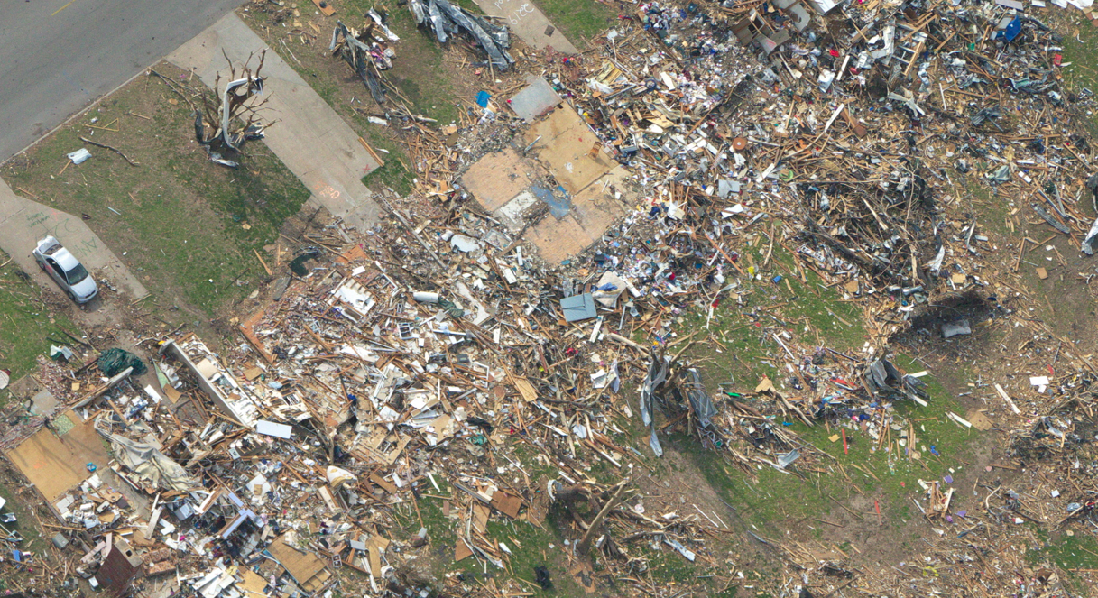 Ef5 Tornado Damage Before And After Detailed Analys...