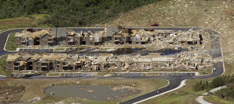 was the tuscaloosa tornado an ef5 examining aerial damage photographs