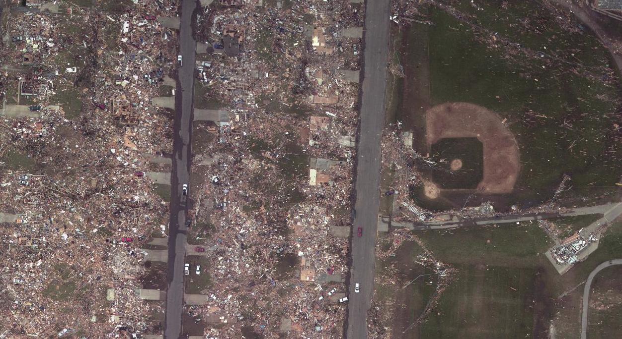 Ef5 Tornado Damage Before And After Images Detailin...