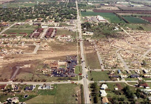 Andover kansas tornado for Classic house 1991