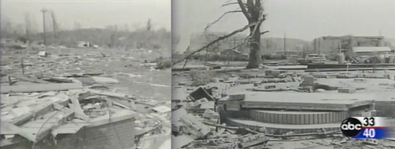 Despite its impressive reputation, little information is available on the Guin tornado. All of the photographs used in this article were taken from this video.