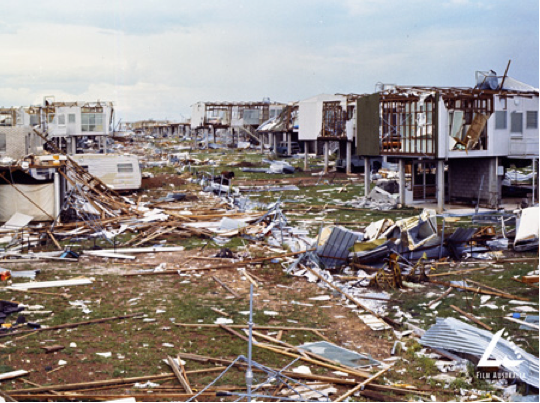 Cyclone Tracy devastated the city of Darwin on Christmas Day, 1974 ...
