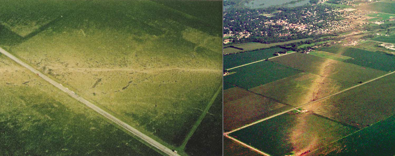 Greensburg Tornado Path
