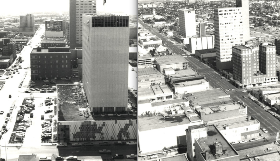 The Lubbock tornado was awarded an F5 rating due to damage in the northern sections of town, although an F4 rating was likely more appropriate. In downtown, the wind damage was comparatively light. (The City of Lubbock)