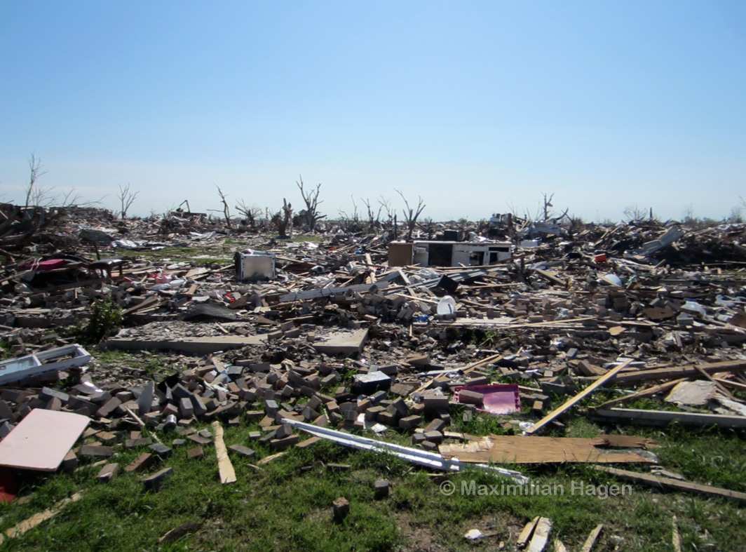 Ef5 Tornado Damage Before And After A neighborhood ...