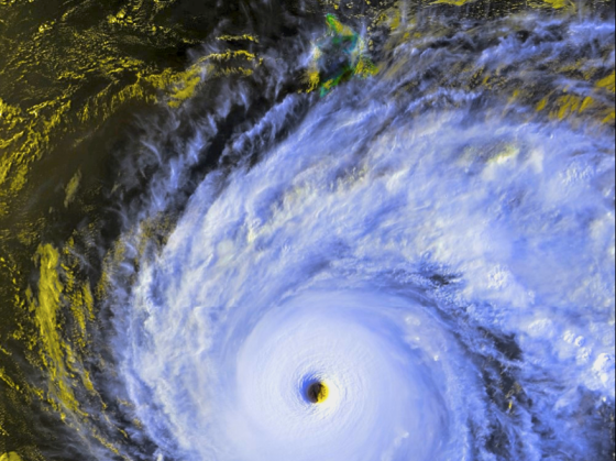 In August of 1994, Hurricane John became the most powerful hurricane in Central Pacific history as it passed south of the Hawaiian Islands.