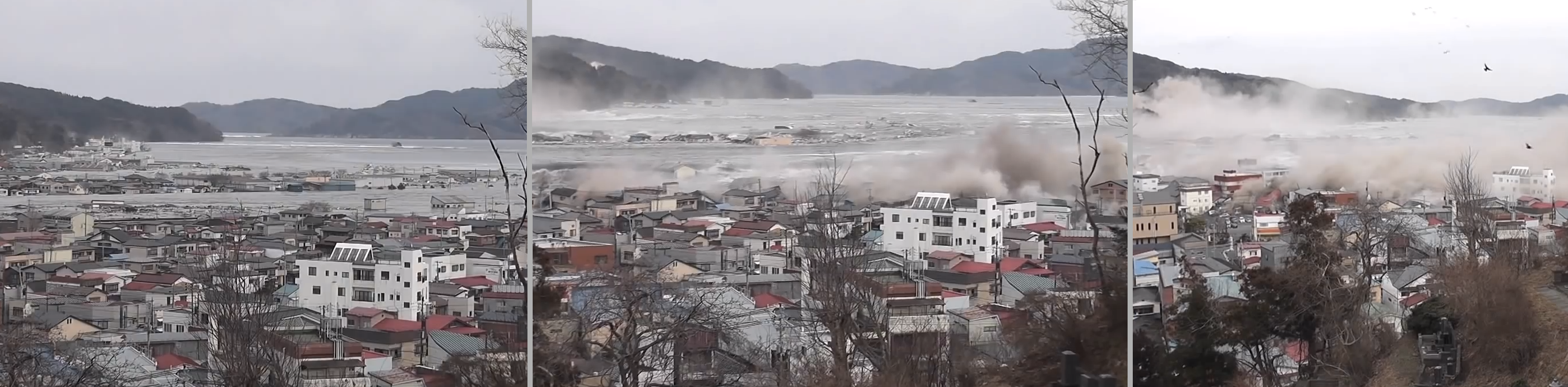 Detailed Analysis of the 2011 Japan Tsunami – Video Footage