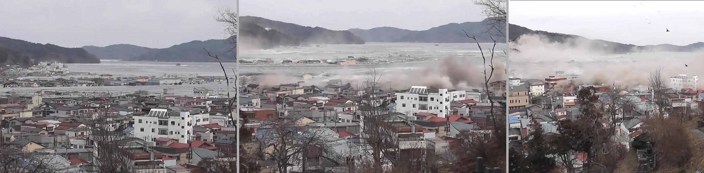 tsunamis wave of destruction Despite its enormous size at scotch cap, the 1946 tsunami had little effect on   the tsunami waves produced extensive destruction along the shorelines of the.